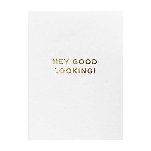 Hey Good Looking! Mini Card