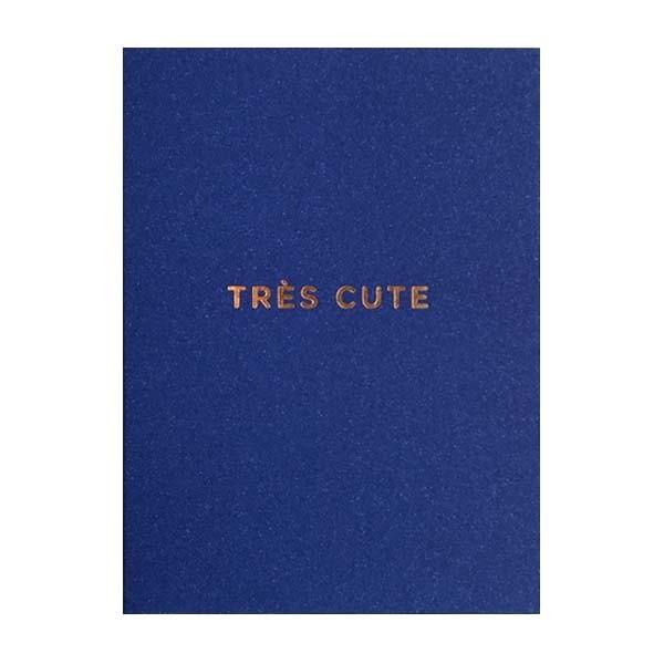 Tres Cute Mini Card