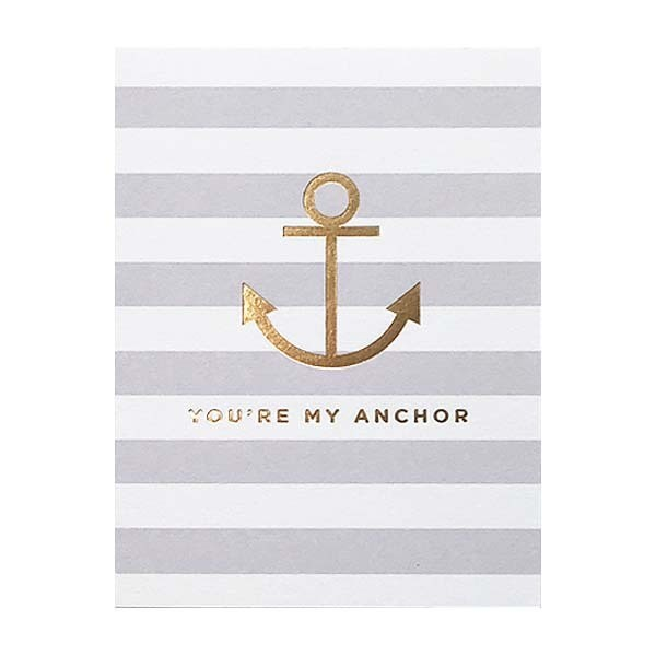 You're My Anchor Mini Card