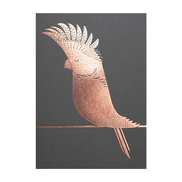 Foil Cockatoo
