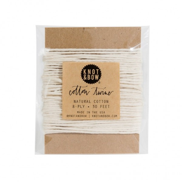 Twine Card ( Natural cotton)