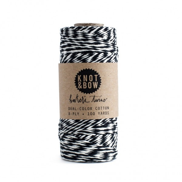 Twine Baker's (Black/Natural)