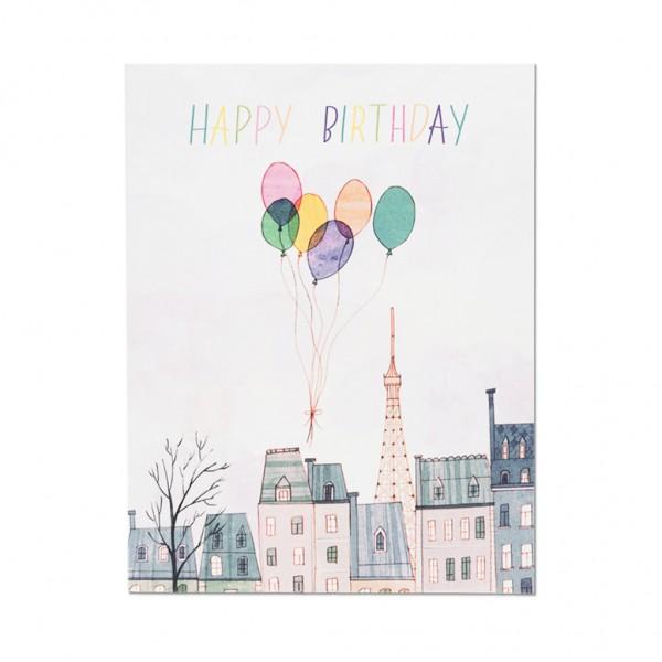 GC - Paris balloons birthday