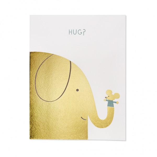 GC - Elephant hugs foil