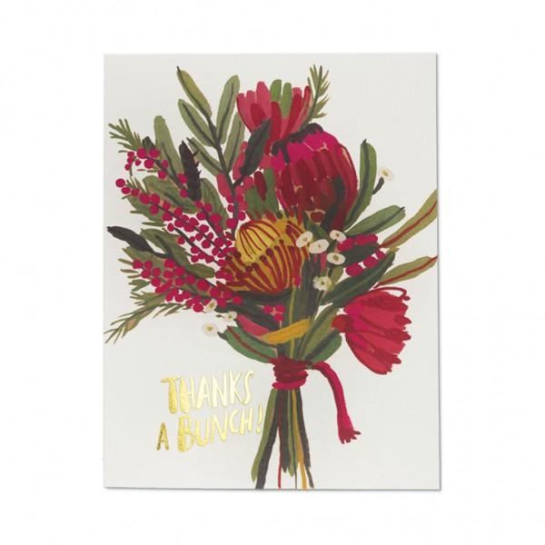 GC - Queen protea thanks foil