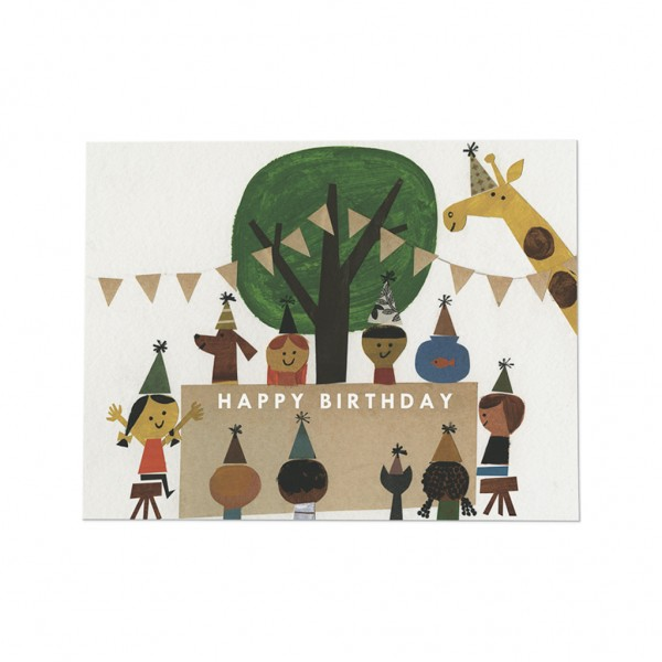 GC - Birthday party card