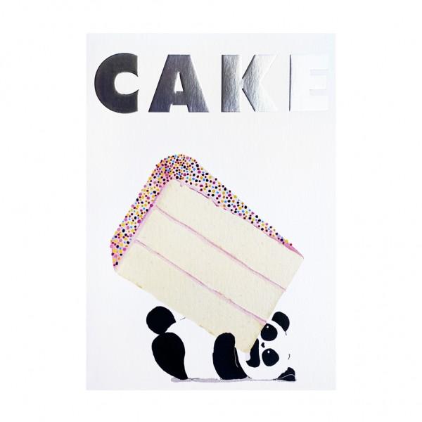 GC HBD Panda and Cake