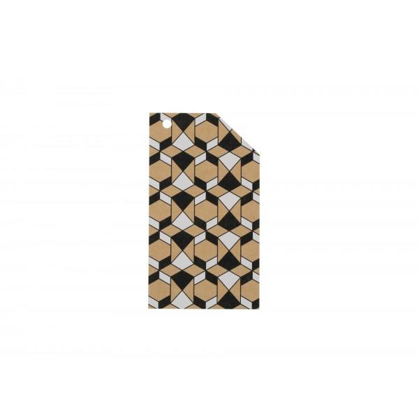 Kraft Tag Islamic Pattern