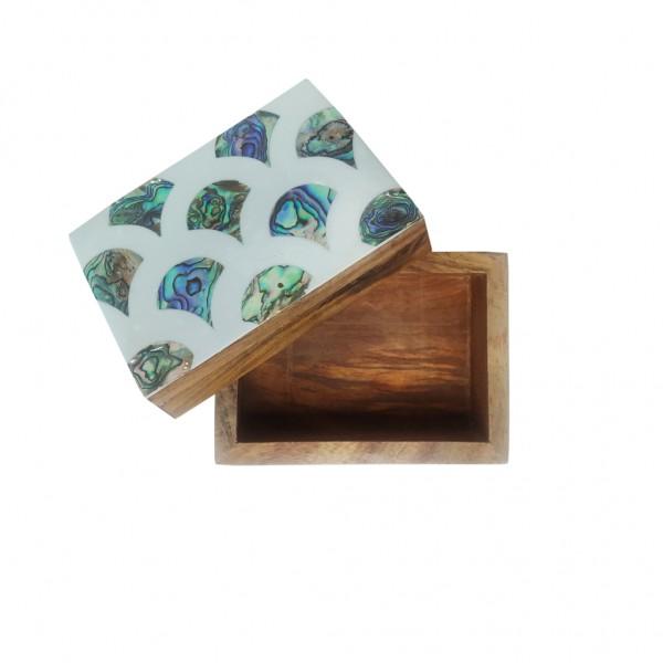 Box Abalone Shell (Rosewood)