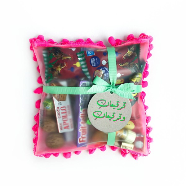 Candy Cushion - Hot Pink (Gergaian)