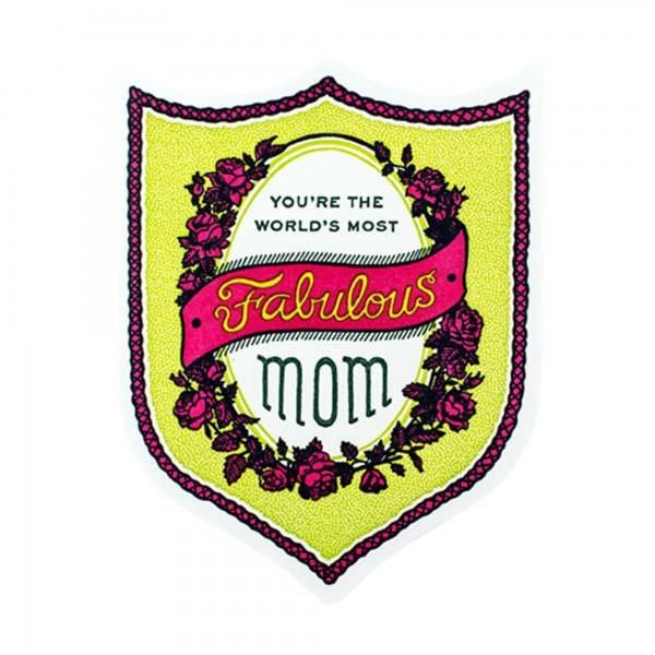 Fabulous Mom Badge