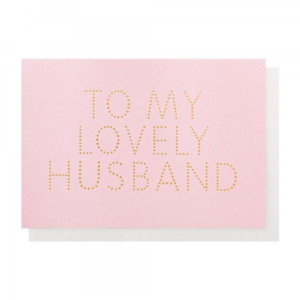 ToMy LOvely Husband Pink