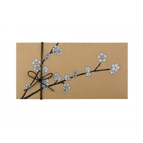 Kraft Money Envelope Cherry Blossom