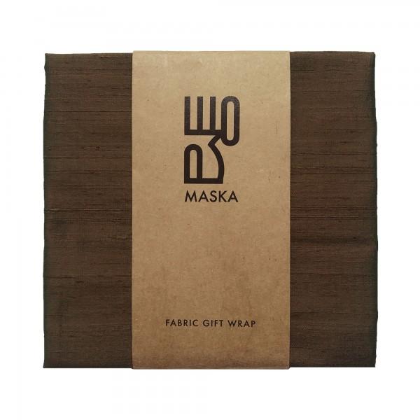 Wrapping Fabric - Rawsilk Dark Bronze