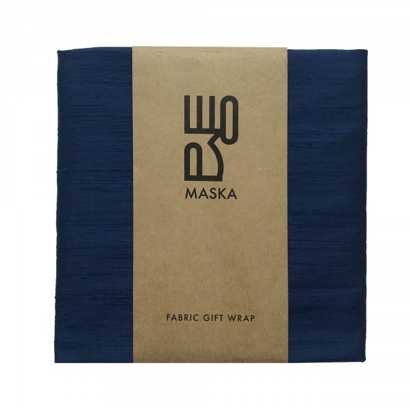 Wrapping Fabric - Rawsilk Navy Blue