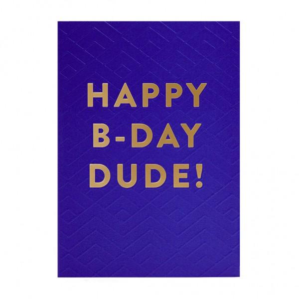 GC Happy Birthday Dude