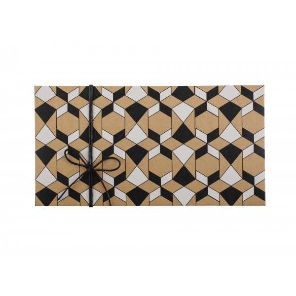 Kraft Money Envelope Islamic Pattern