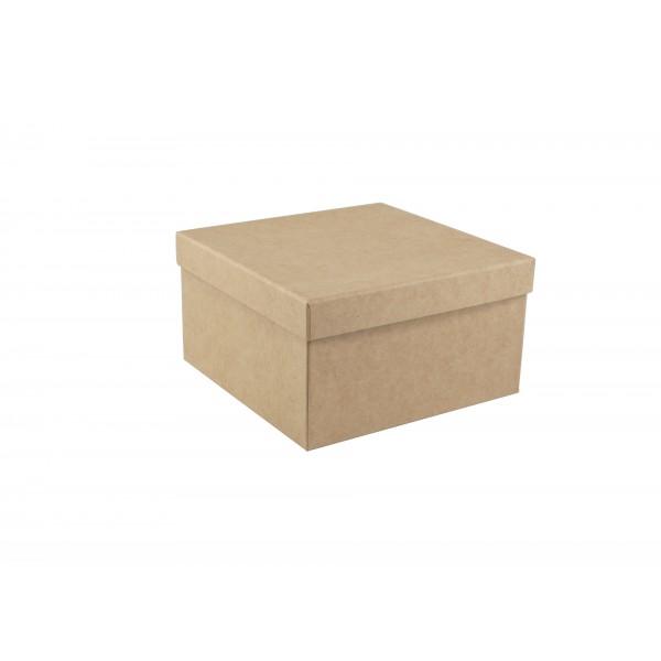 Box Kraft Square