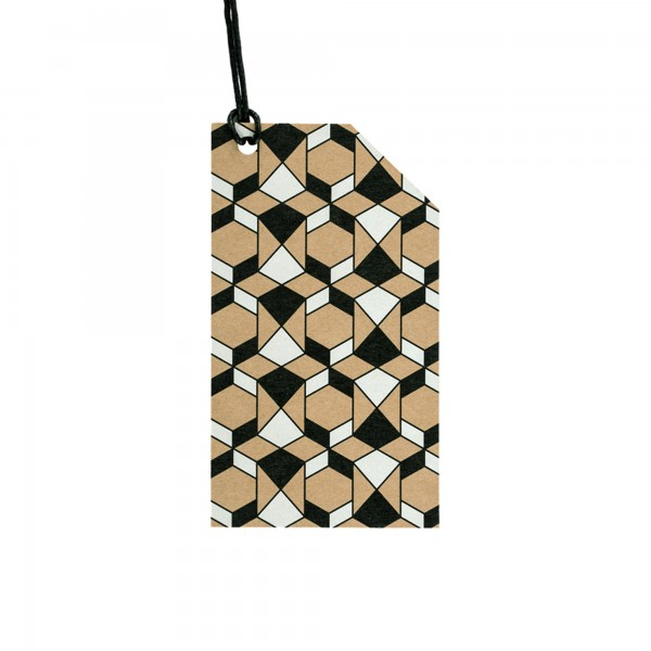 Kraft Tag Islamic Pattern