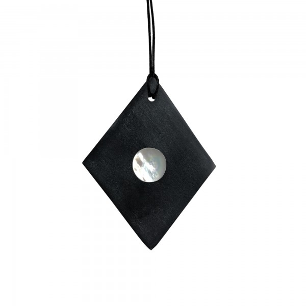 TRNK Marble Luna Black (Diamond Shape)
