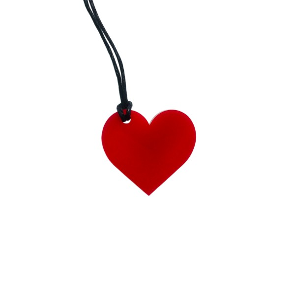 TRNK Acrylic Heart Mini