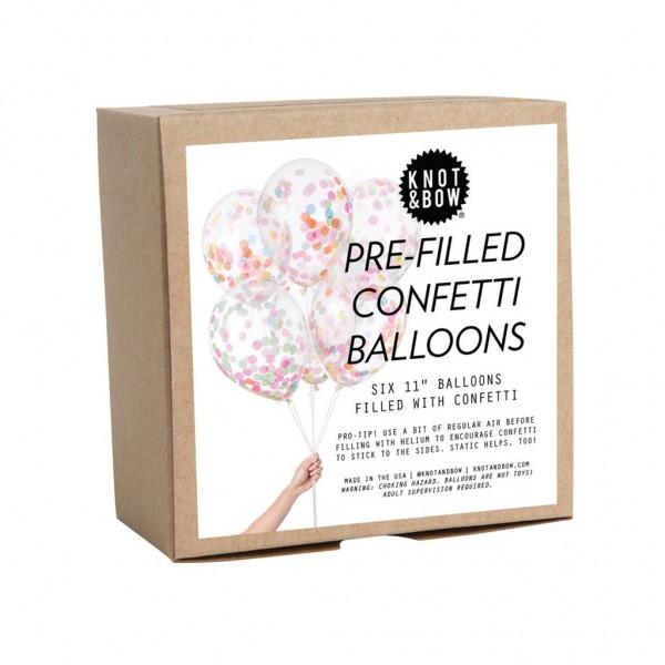 Pre-Filled Confetti Ballons