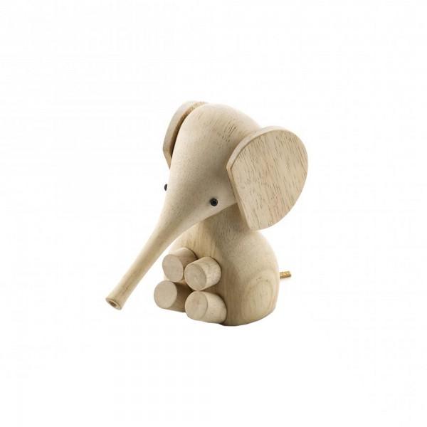 Rubber Wood Baby Elephant