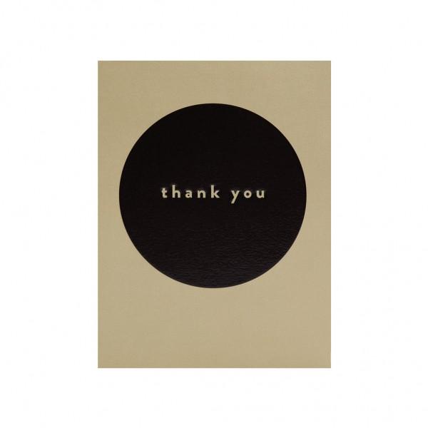 CG Thank you black circle