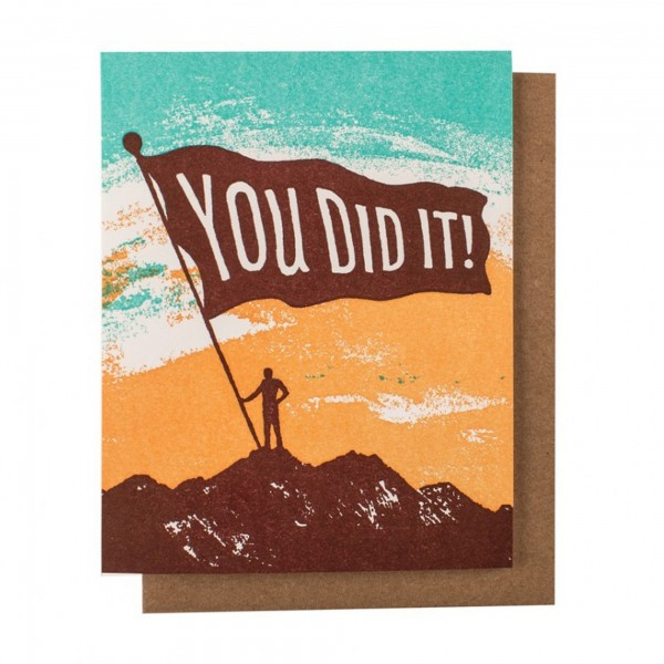 You Did It! Mountain